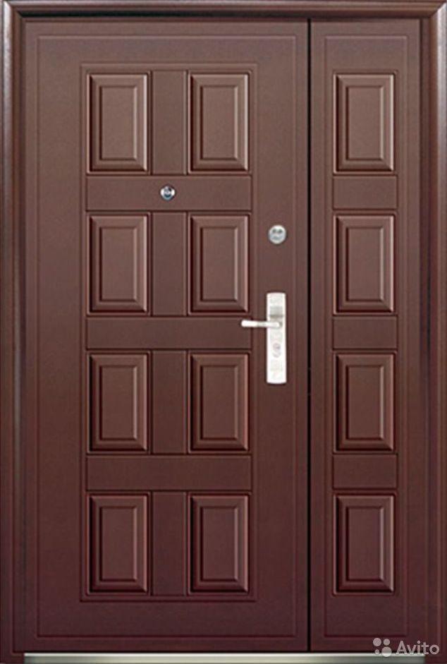 двери входные двустворчатые 1200